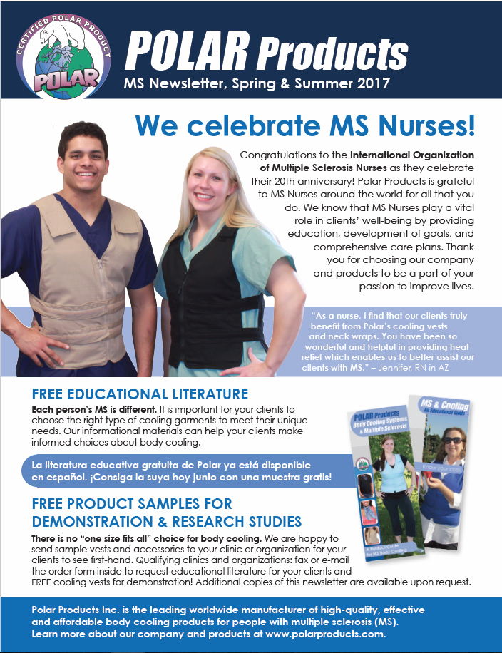 MS Clinic newsletter spring 2017 cover
