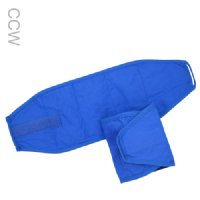 Pair of blue Cool Comfort evaporative cooling wrist wraps