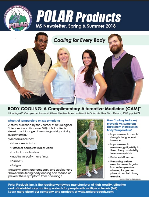 MS Clinic newsletter spring 2018 cover